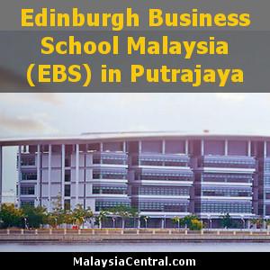 Edinburgh Business School Malaysia (EBS) in Putrajaya