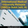 International Medical University Malaysia (IMU) in Bukit Jalil, Kuala Lumpur
