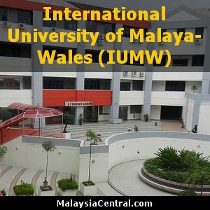 International University of Malaya-Wales (IUMW) in Kuala Lumpur