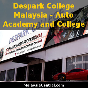 Despark College Malaysia - Auto Academy and College