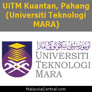 UiTM Kuantan, Pahang (Universiti Teknologi MARA)