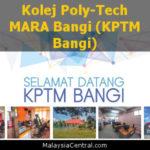 Kolej Poly-Tech MARA Bangi (KPTM Bangi)