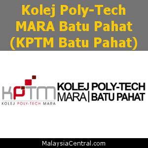Kolej Poly-Tech MARA Batu Pahat (KPTM Batu Pahat)