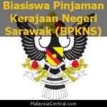 Biasiswa Pinjaman Kerajaan Negeri Sarawak (BPKNS) - Sarawak State Government Scholarship