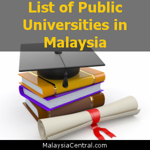 List of Public Universities in Malaysia