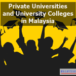 List of Private Universities and University Colleges in Malaysia