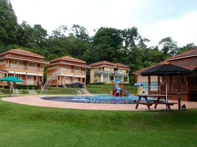Kamalodge chalet at the foot of maxwell hill in taiping malaysia