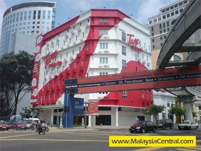 Tune Hotels at Jalan Tuanku Abdul Rahman in Kuala Lumpur