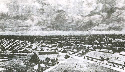 Taiping town in the early 1880s