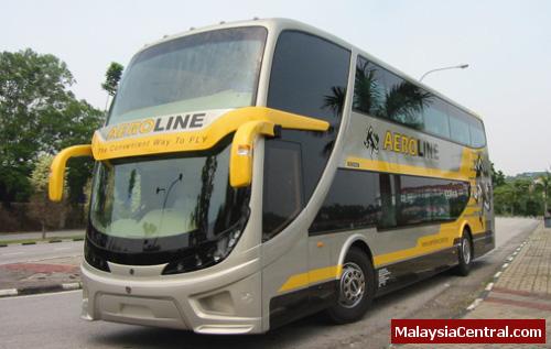 Aeroline Business Class Coach Service Between Kuala Lumpur and Singapore/Penang