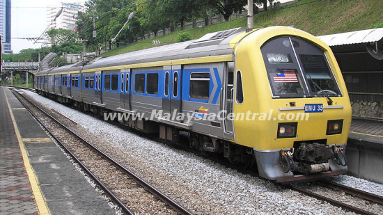 KTM Komuter – Popular Urban Electric Commuter Train Service