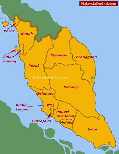 peninsular malaysia An interactive map of peninsular malaysia, showing points of interest for first time and repeat visitors to the region.