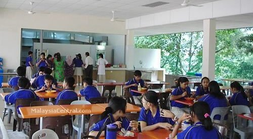 Beaconhouse Sri Inai cafeteria