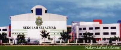 Sekolah Sri Acmar front
