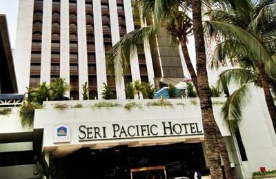 Best Western Premier Seri Pacific Hotel entrance