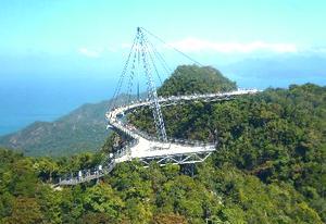 Hanging bridge on Mount MaChinchang