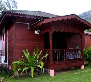 Salang Pusaka Resort chalet aircond