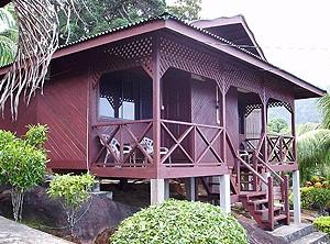 Sun Beach Resort Deluxe chalet in Tioman island