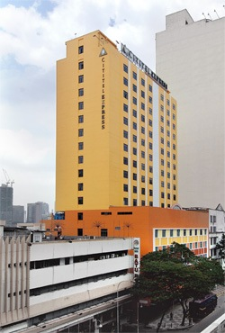 Cititel Express Kuala Lumpur building