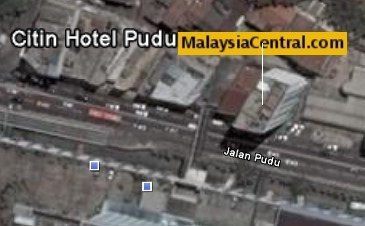 Google Earth after opening MalaysiaCentral.com placemark file