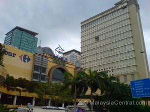 Mid Valley Megamall building centre