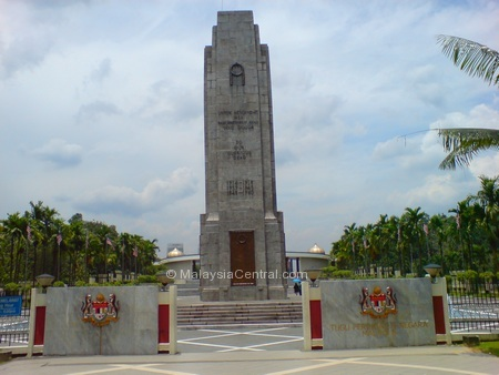National Monument/Tugu Negara entrance