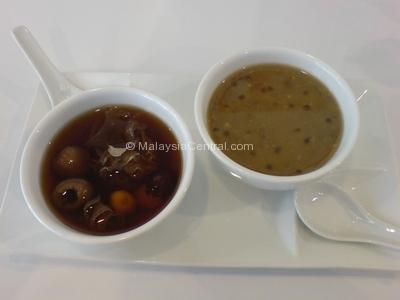 Sweet Delight Cafe Loh Han Kor and Green Bean Dessert Soup