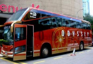 Odyssey – Business Class Coach Service Between Kuala Lumpur and Singapore