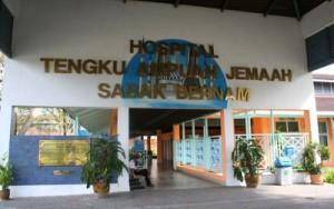 Hospital Tengku Ampuan Jemaah – Government Hospital in Sabak Bernam, Selangor
