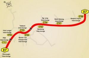 E7-Lebuhraya Cheras-Kajang (Cheras-Kajang Expressway)