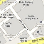 How to go to Low Yat Plaza, Kuala Lumpur? Live Area Map, Roads and Directions