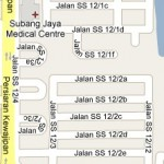 How to go to SS12, Subang Jaya, Selangor? Live Area Map, Roads and Directions