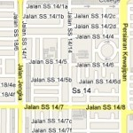 How to go to SS14, Subang Jaya, Selangor? Live Area Map, Roads and Directions