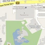 How to go to Sunway Pyramid, Bandar Sunway, Petaling Jaya, Selangor? Live Area Map, Roads and Directions