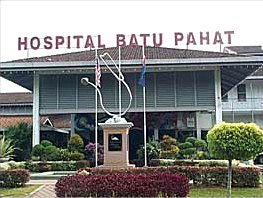 Hospital Batu Pahat – Government Hospital in Batu Pahat, Johor