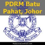 Balai Polis Batu Pahat, Johor (PDRM - Ibu Pejabat Polis Daerah (IPD), Balai Polis, Pondok Polis)