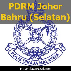 Balai Polis Johor Bahru (Selatan), Johor (Senarai PDRM – Ibu Pejabat Polis Daerah (IPD), Balai Polis, Pondok Polis)