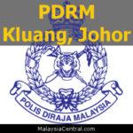 Balai Polis Kluang, Johor (Senarai PDRM - Ibu Pejabat Polis Daerah (IPD), Balai Polis, Pondok Polis)
