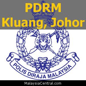 Balai Polis Kluang, Johor (Senarai PDRM – Ibu Pejabat Polis Daerah (IPD), Balai Polis, Pondok Polis)