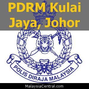 Balai Polis Kulai Jaya, Johor (Senarai PDRM – Ibu Pejabat Polis Daerah (IPD), Balai Polis, Pondok Polis)