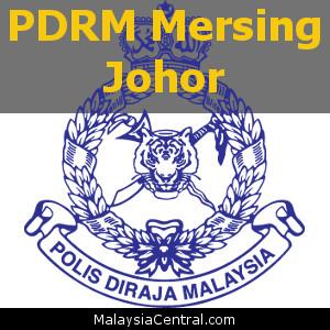 Balai Polis Mersing, Johor (Senarai PDRM - Ibu Pejabat Polis Daerah (IPD), Balai Polis, Pondok Polis)