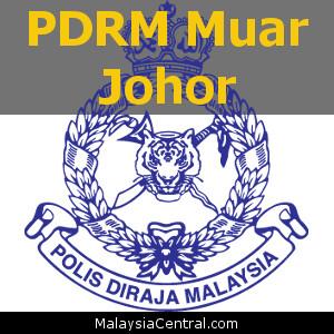 Balai Polis Muar, Johor (Senarai PDRM - Ibu Pejabat Polis Daerah (IPD), Balai Polis, Pondok Polis)