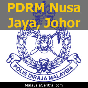 Balai Polis Nusa Jaya, Johor (Senarai PDRM – Ibu Pejabat Polis Daerah (IPD), Balai Polis, Pondok Polis)