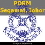 Balai Polis Segamat, Johor (Senarai PDRM - Ibu Pejabat Polis Daerah (IPD), Balai Polis, Pondok Polis)