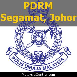 Balai Polis Segamat, Johor (Senarai PDRM – Ibu Pejabat Polis Daerah (IPD), Balai Polis, Pondok Polis)