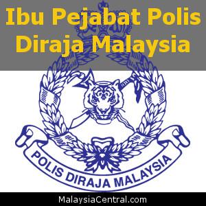Ibu Pejabat Polis Diraja Malaysia, PDRM HQ (Contact, Map, Directions)