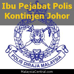 Ibu Pejabat Polis Kontinjen Johor, PDRM (Contact, Map, Directions)