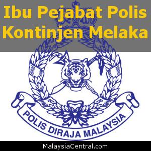 Ibu Pejabat Polis Kontinjen Melaka, PDRM (Contact, Map, Directions)