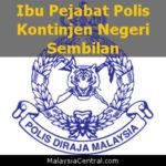 Ibu Pejabat Polis Kontinjen Negeri Sembilan, PDRM (Contact, Map, Directions)