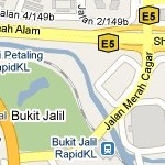 How to go to Bukit Jalil Temporary Express Bus Terminal? Live Area Map, Roads and Directions